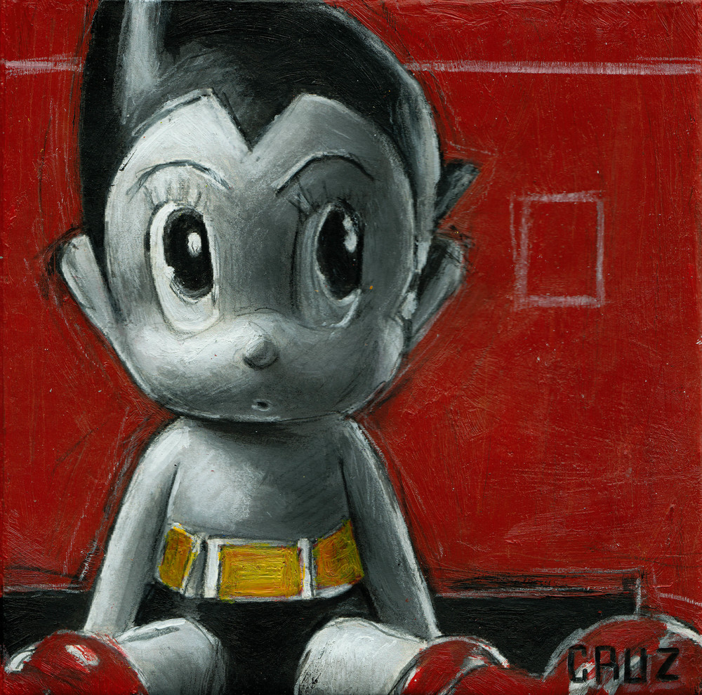 Astro Boy in Repose
