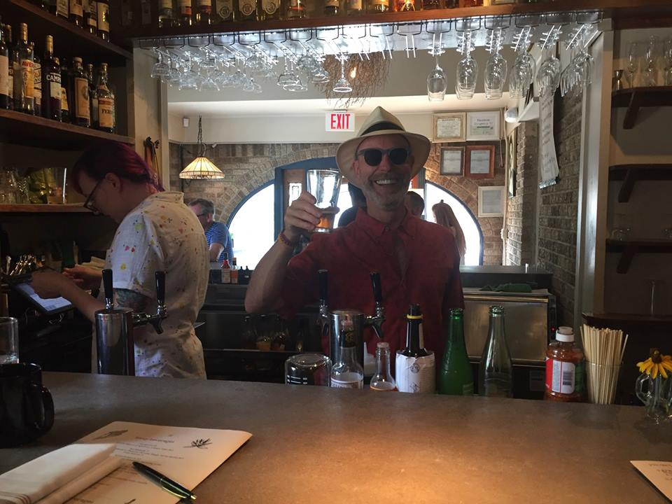 Not exactly press worthy; but Papa Stayer loved his day as guest bartender on Father's Day June 24th, 2017