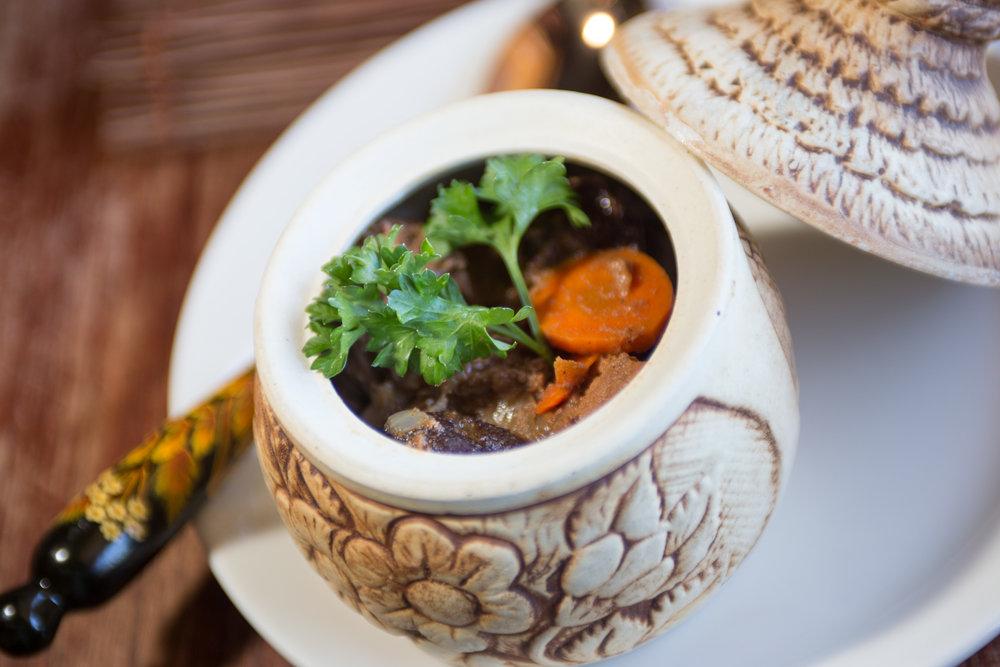 Zharkoe beef stew in san diego