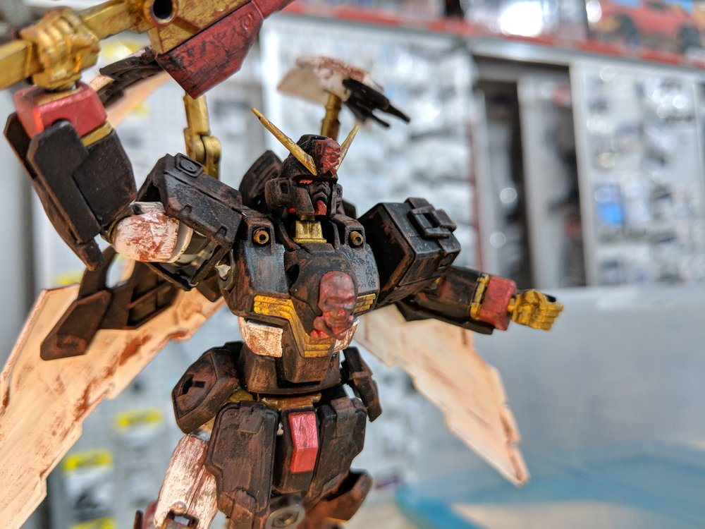 This was a great model, good weathering and it took best pose.