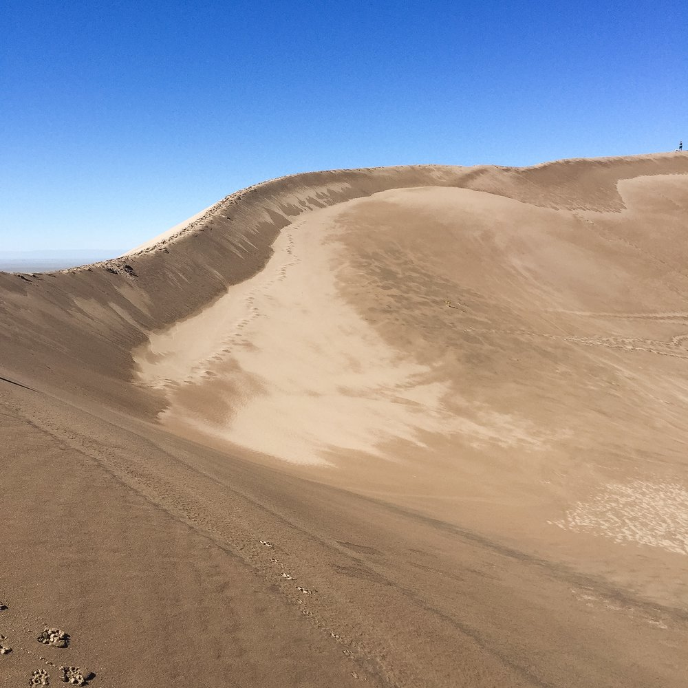 Ridge along Star Dune | 755 Feet