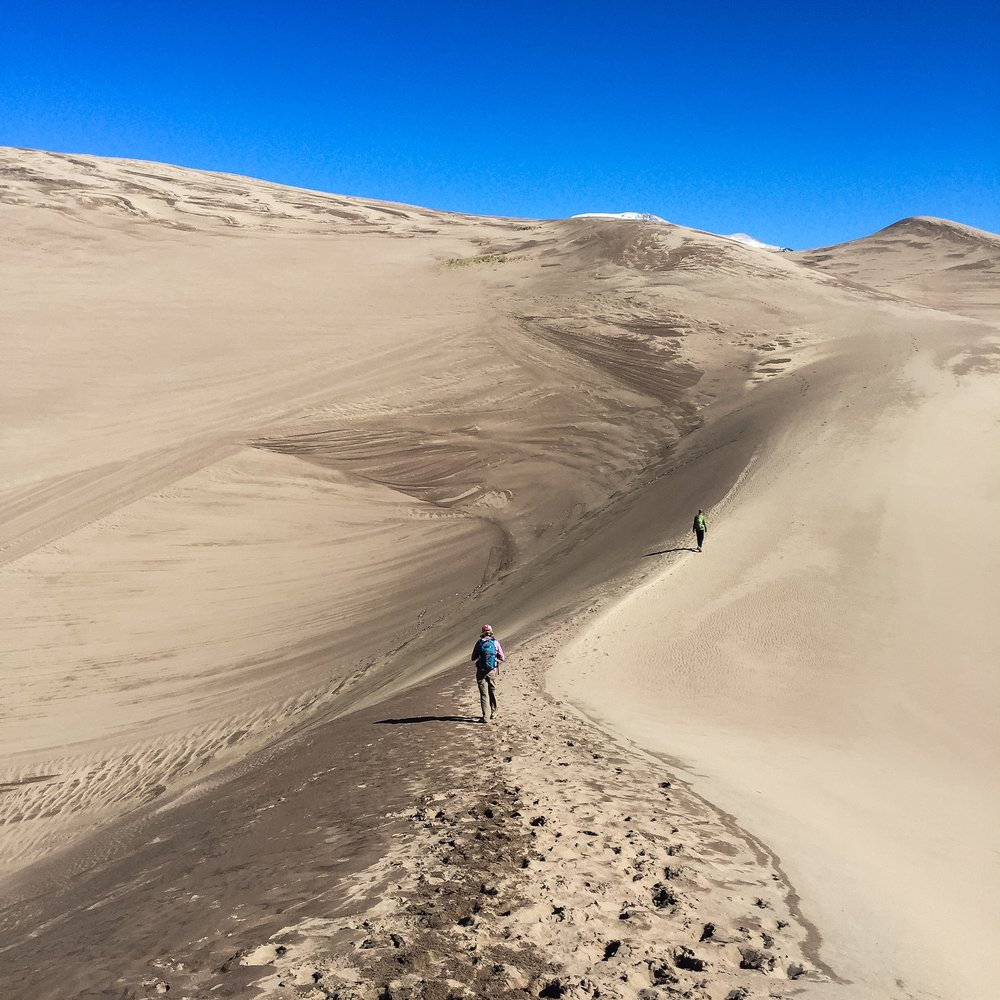 High Dune | The Great Sand Dunes | 699 Feet