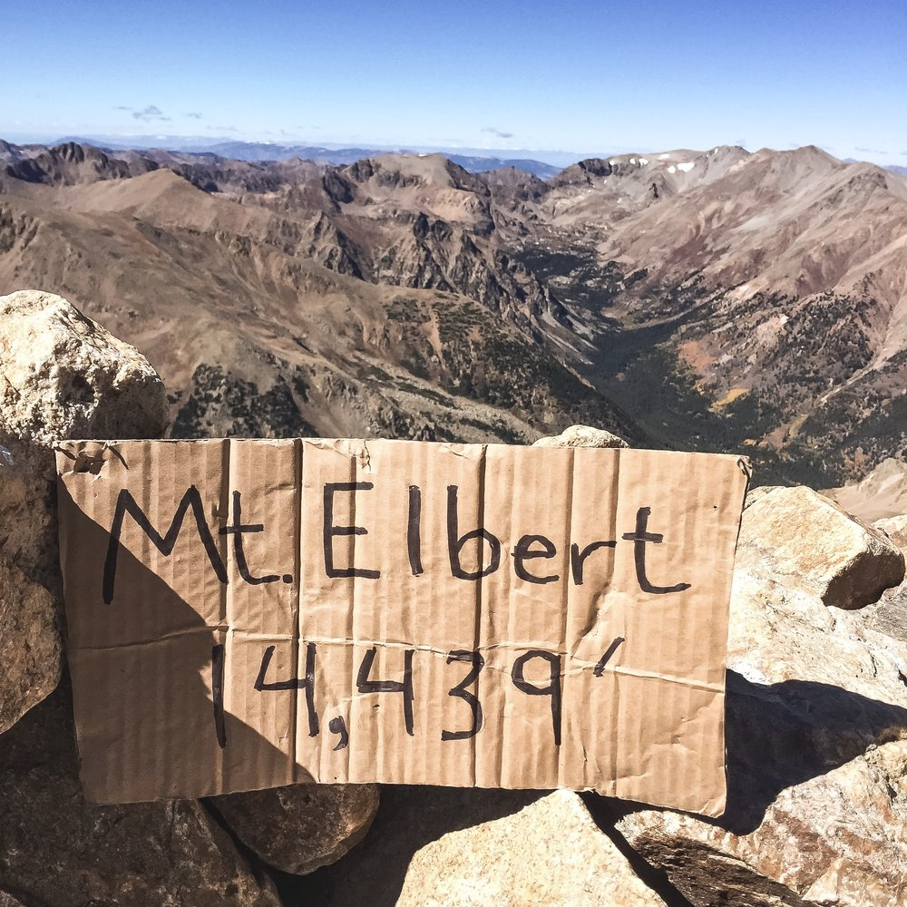 Mt. Elbert's Summit