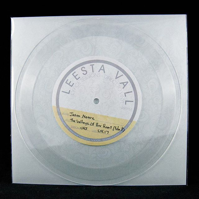 http://leestavallsoundrecordings.com/products/lvos45  Super excited about these new lathe cut vinyl singles I recently recorded in Brooklyn with Leesta Vall Sound Recordings.  Each record is its own unique take, a one-of-a-kind, captured moment in time.  Available through link above.  @leestavall  #vinyl #7inchvinyl  #singersongwriter #folkmusic #folksinger #acousticguitar #acousticmusic #analogue #analog #analogonly #lovesongs #storysongs #americanamusic #brooklynmusic #nycmusic #nashvillemusic