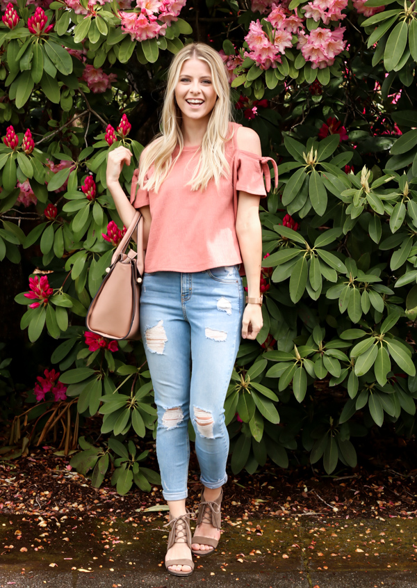 Pink Cold Shoulder Madewell Top-5.jpg