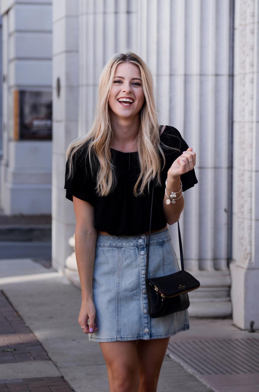 Denim Skirt Black Top-2.jpg