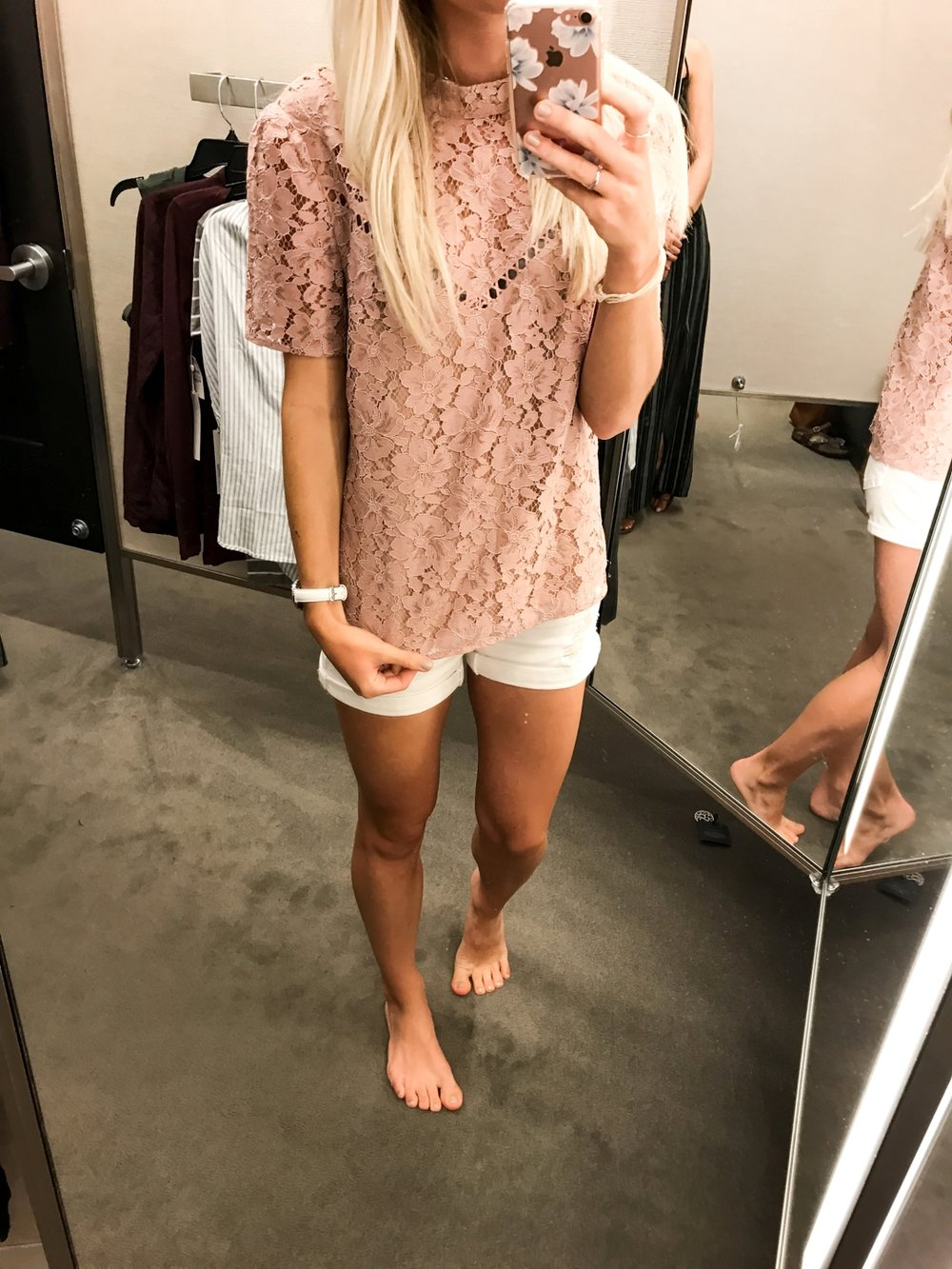 Lace Top - Small