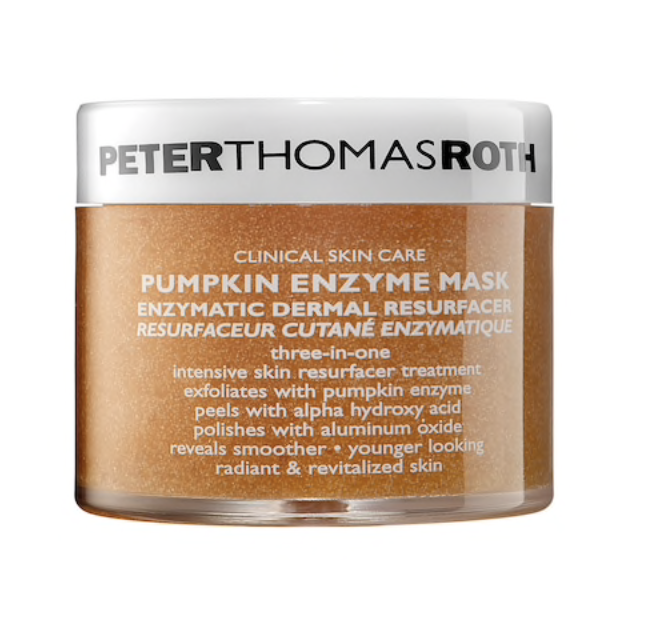 Peter Thomas Roth Face Mask - Not only does this smell like delicious pumpkins, it is, darn I say, the most exfoliating face mask I have ever used. It polishes my skin to feel like a baby's bum and leaves it feeling so bright and radiant.