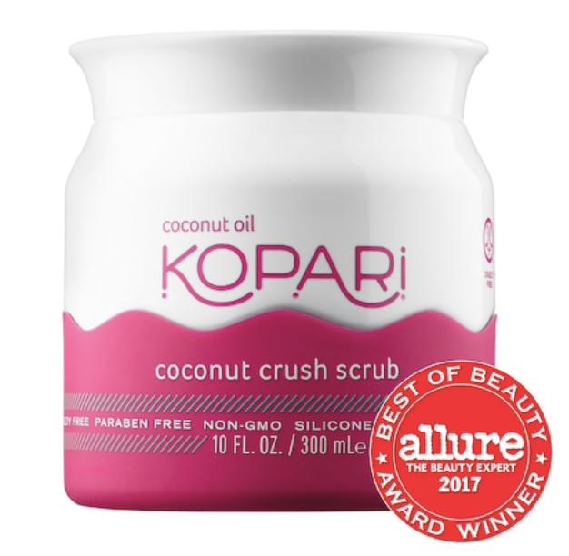 Kopari Body Scrub - This is a really great body scrub that also smells so yummy!