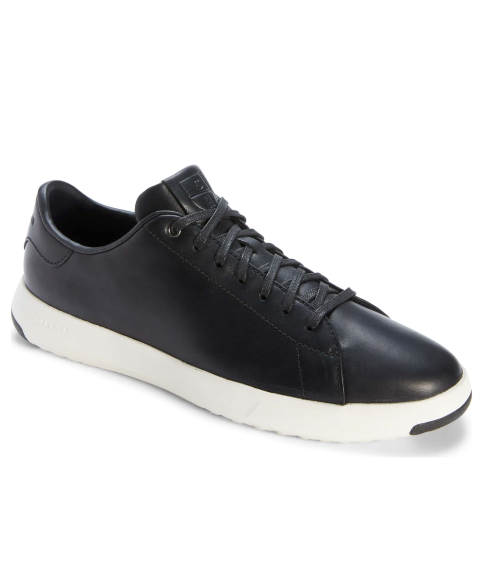 Cole Haan Sneaker - Chris bought these sneakers about 3 months ago and absolutely loves them. They're extremely comfy and can be wore with so many different outfits. Plus they come in several colors!