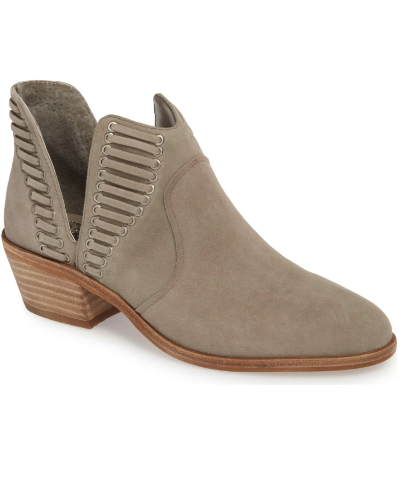 Vince Camuto Bootie - For a lower bootie option, these are incredibly cute and a top seller!