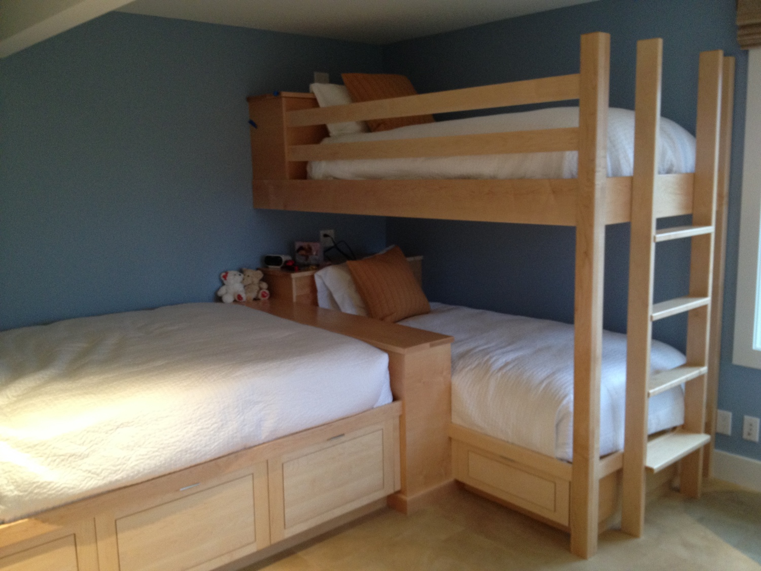 Maple Bunk Beds Alula Woodworks