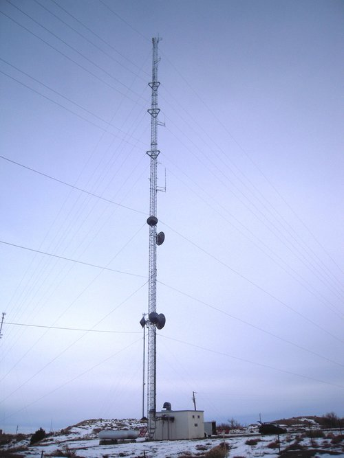 300' Guyed Tower in Southern Colorado