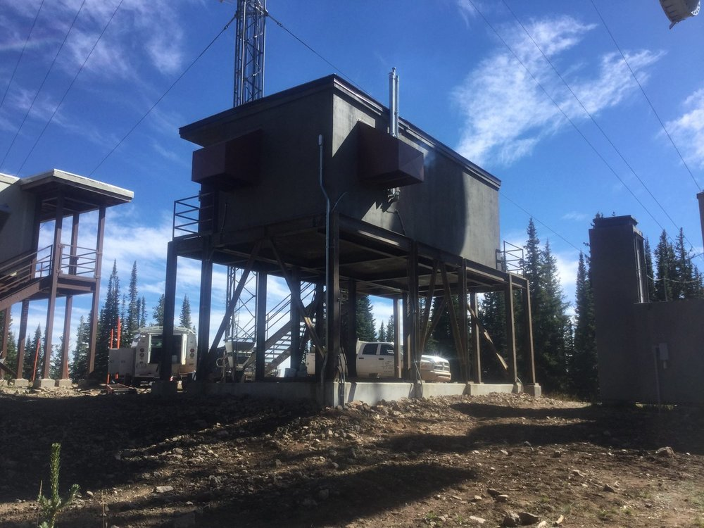 Elevated Shelter in Medicine Bow- Routt National Forest