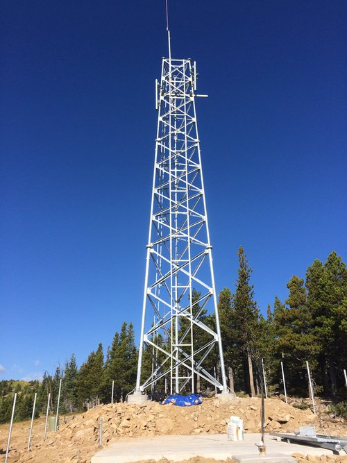 60' Self-Support Tower in Boulder County, Colorado