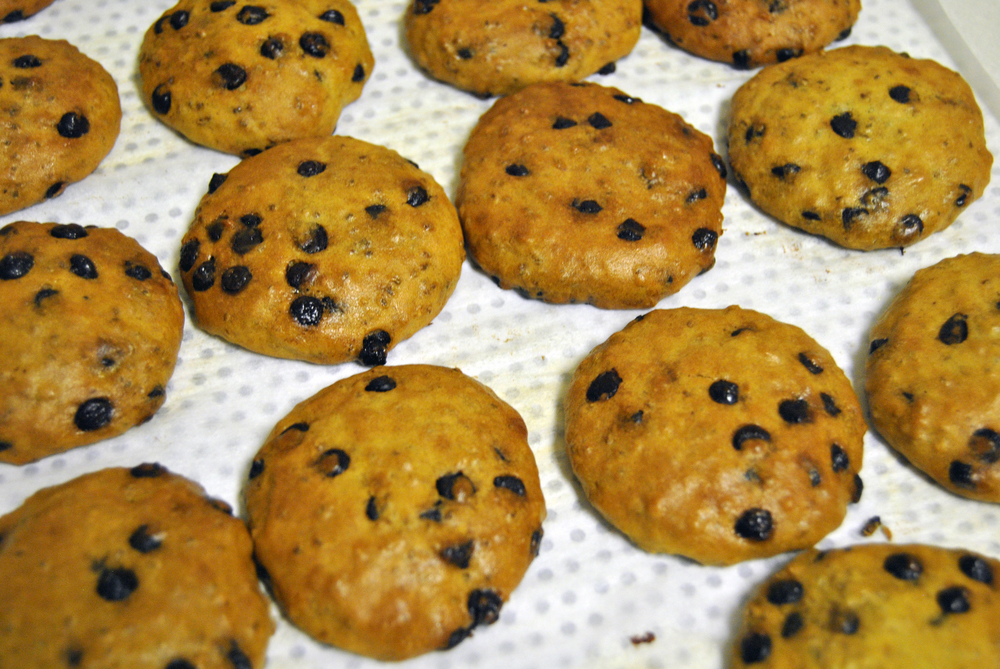 Fresh Chia Chocolate Chip Cookies