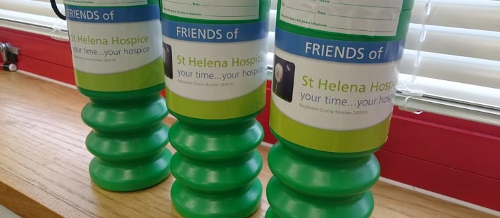 Colne Bank has supported COLCHESTER-based ST.Helena HOSPICE