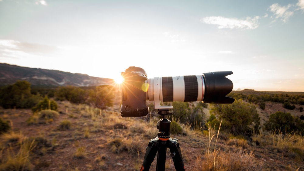Canon 1DC w / 70-200mm f/2.8 IS at Capitol Reef National Park, Utah