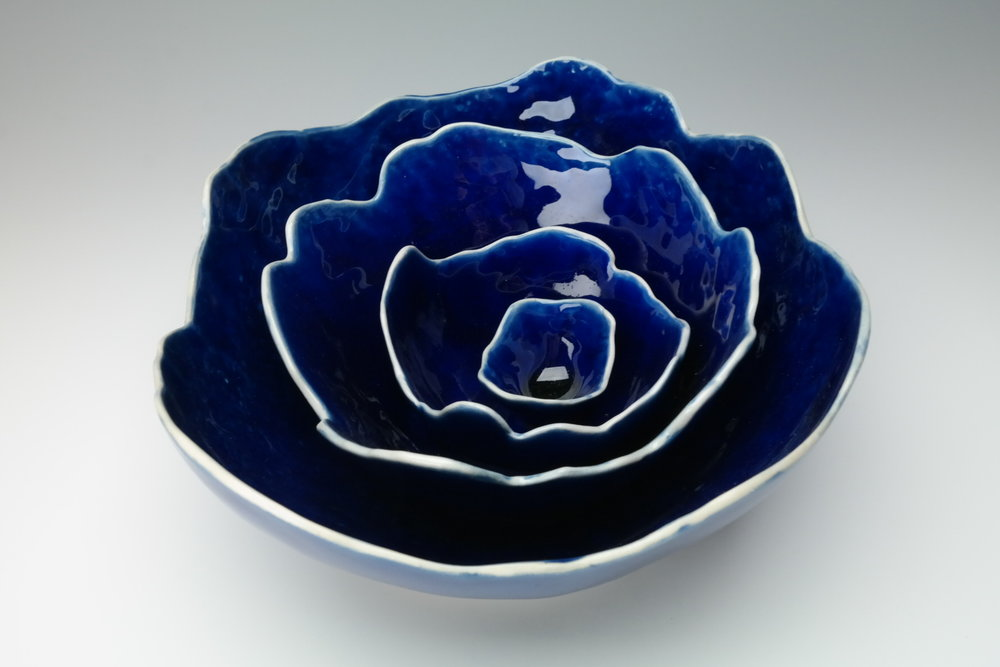 Nesting Bowls Retail Value: $150 Kate Tremel Clay