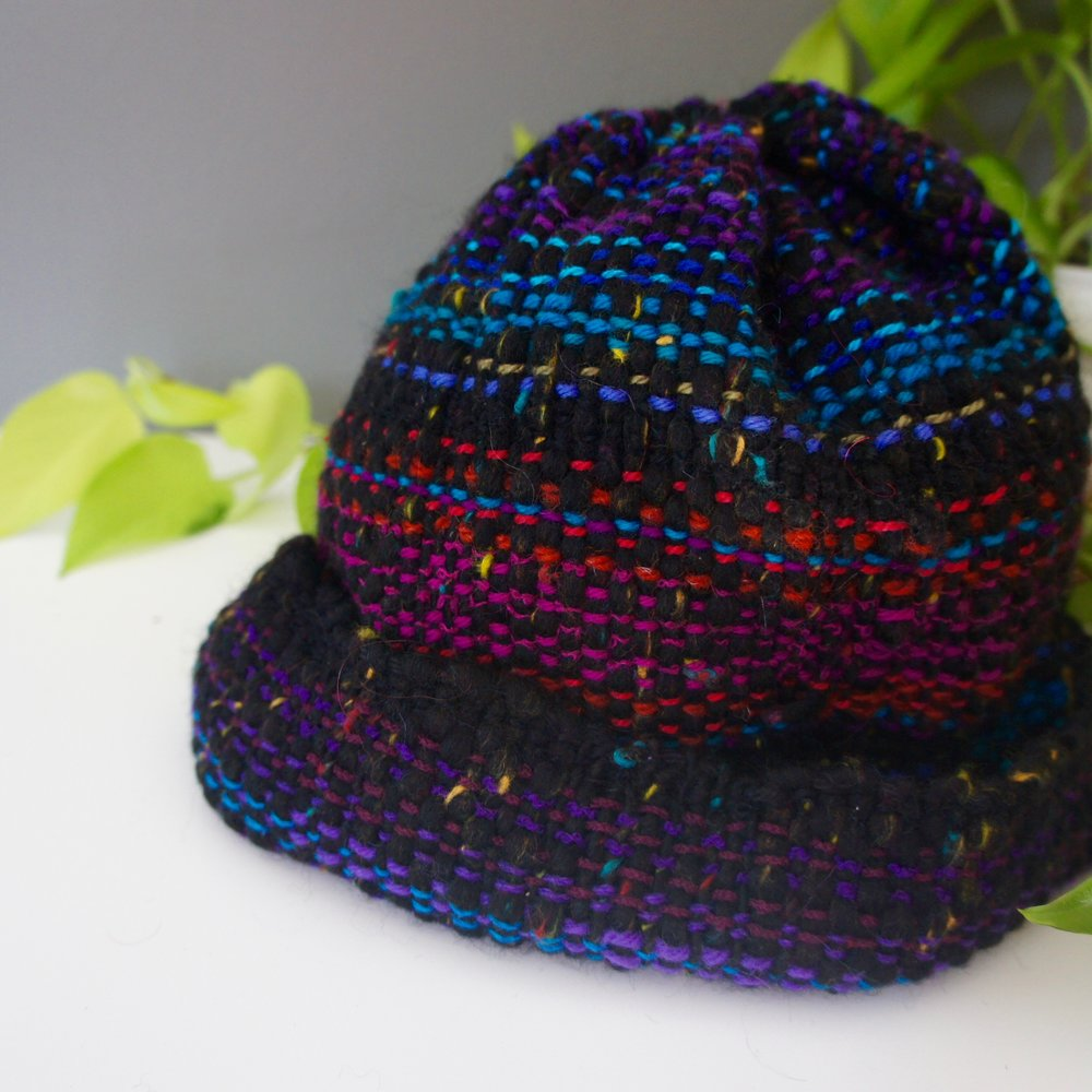Handwoven Winter Hat   Retail Value: $50 Carol Furtado Shop more @Art on Adare! Holiday Sale