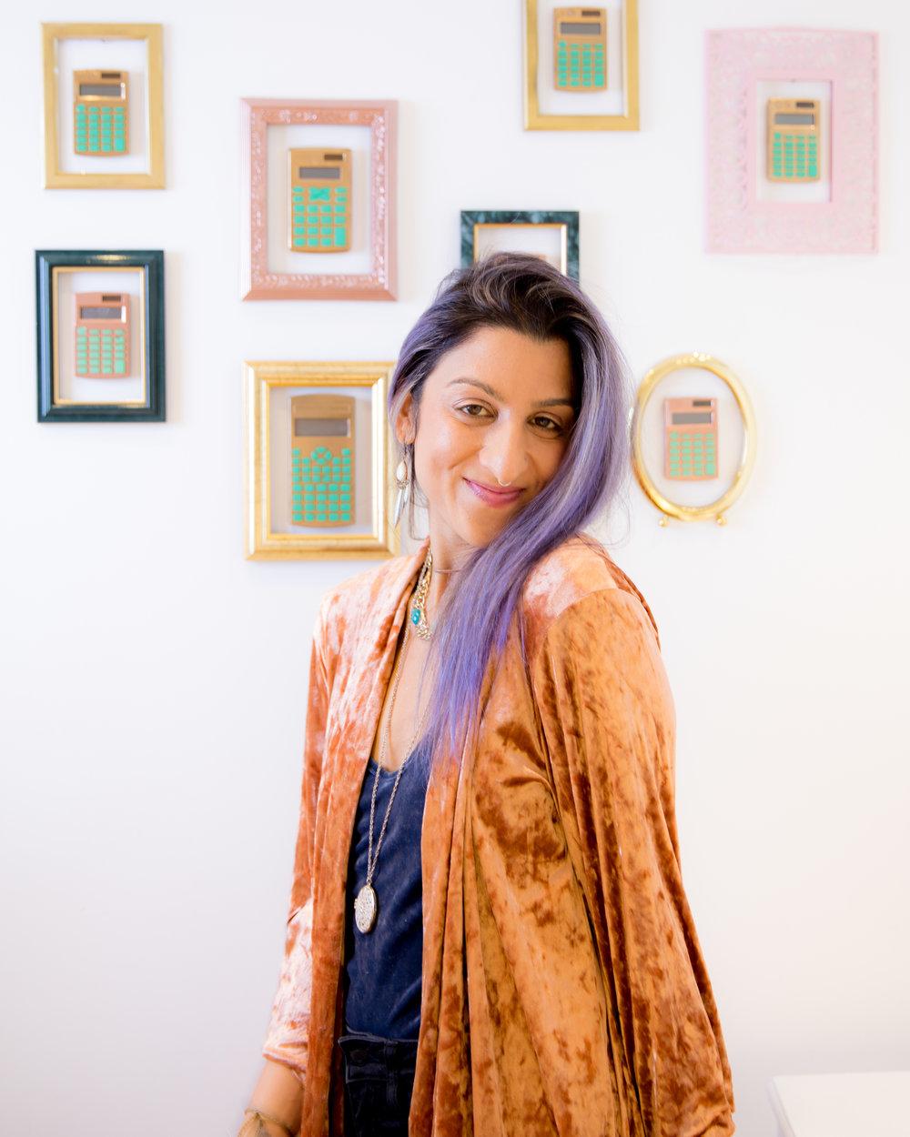 Vanessa Vakharia, Founder + CEO of The Math Guru