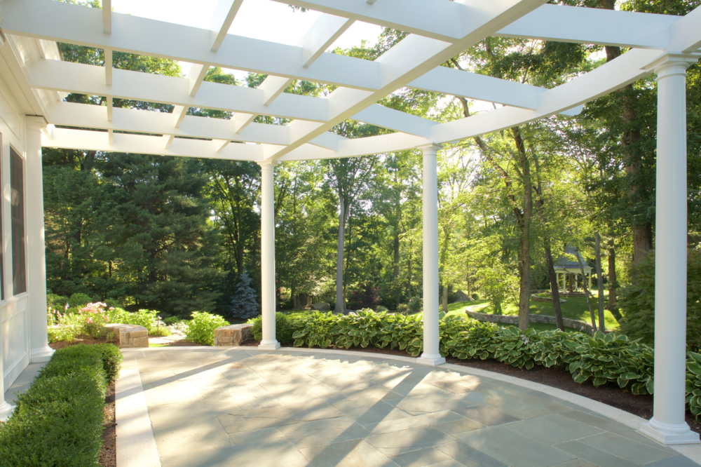 Gazebo and pergola in Bedford, NY