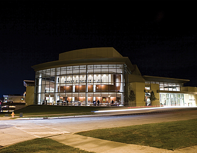 North Central College - Exterior View Night.jpg