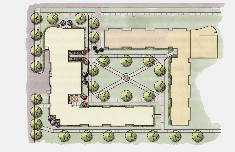 UIS Residence Hall - Site Plan.jpg