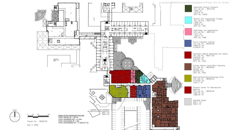 Central Dupage Hospital C K Architecture Inc