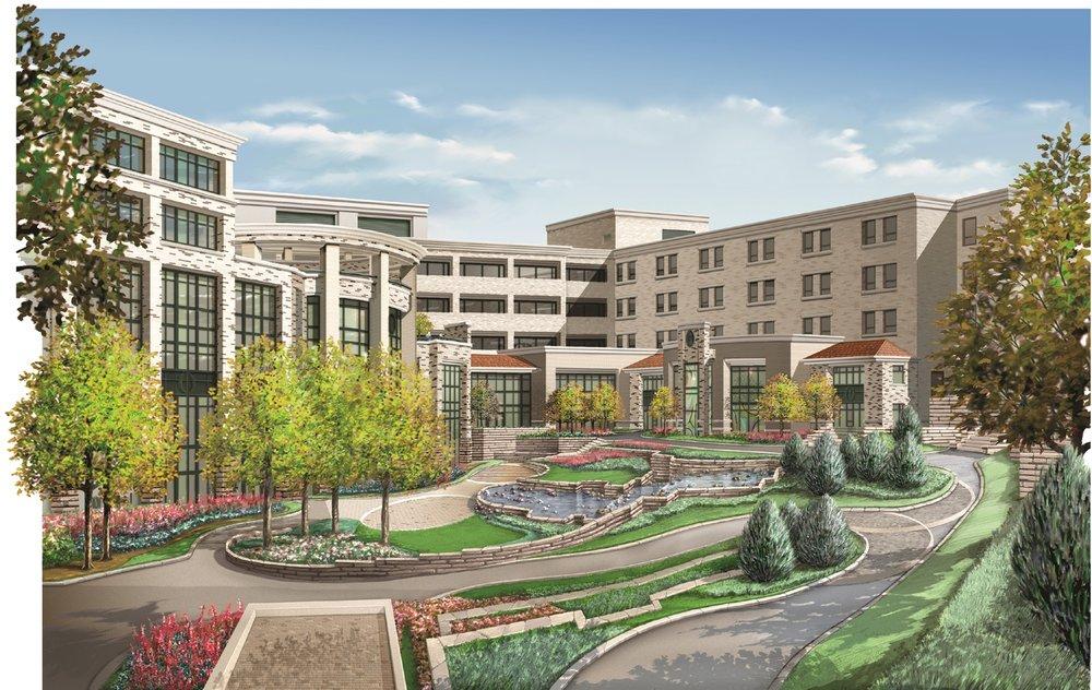 Central DuPage Hospital - Courtyard.jpg