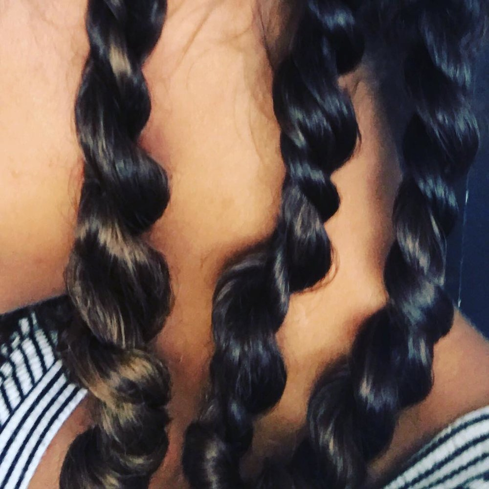 Should You Straighten Your Curly Hair to Cut It? — Puff Apothecary