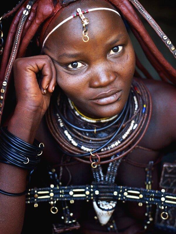 Meet the Namibian Himbas