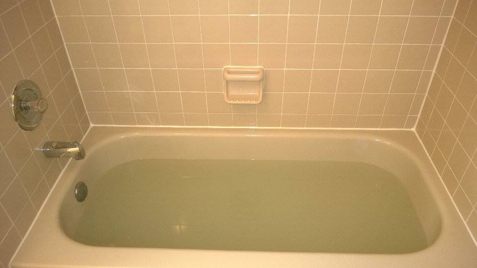 A Mrs. Grout Reconditioned Tub