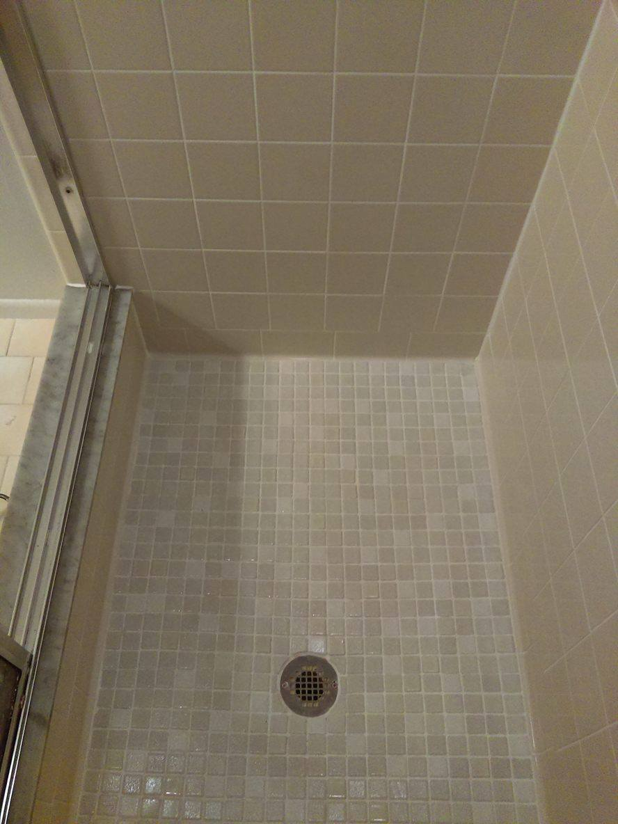 Like New Shower after a Service
