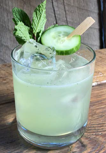 Cucumber Cooler Memorial Day Drink