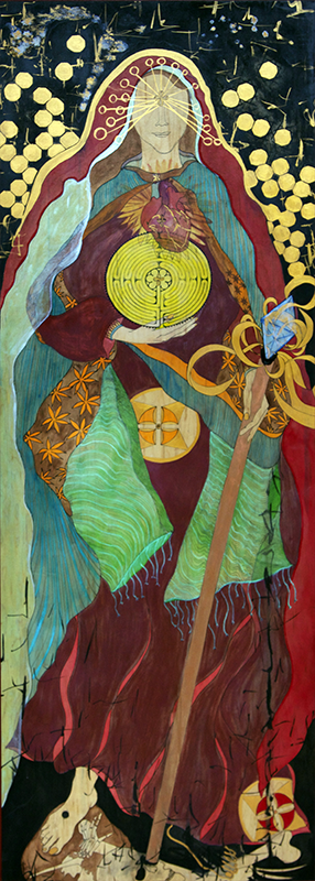 Image: The Goddess of Illumination — Regina Stribling, 2009