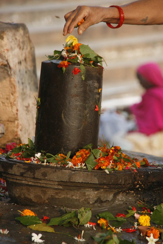 Shiva Lingam in Varanasi