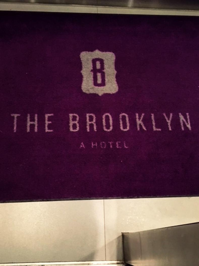 The Brooklyn A Hotel entrance rug