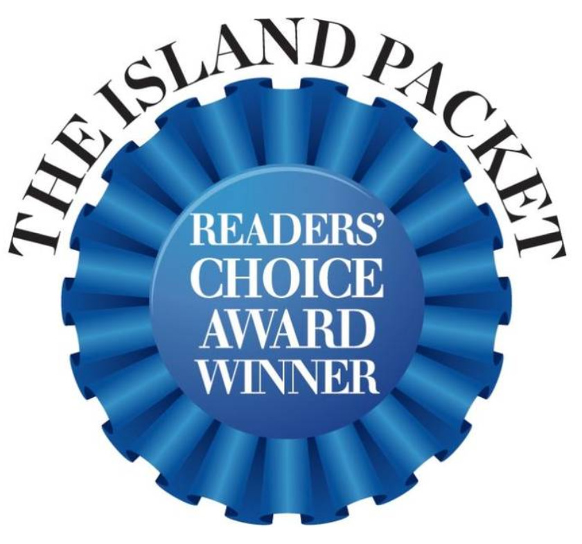 Island Packet Readers' Choice Award Winner 7 Years in a Row