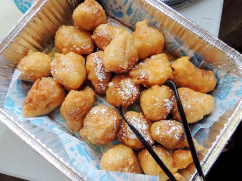 Call Me Fluffy: our Loukoumades
