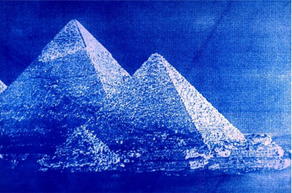 """Kadie Salfi, """"Pyramids"""", 2016"""