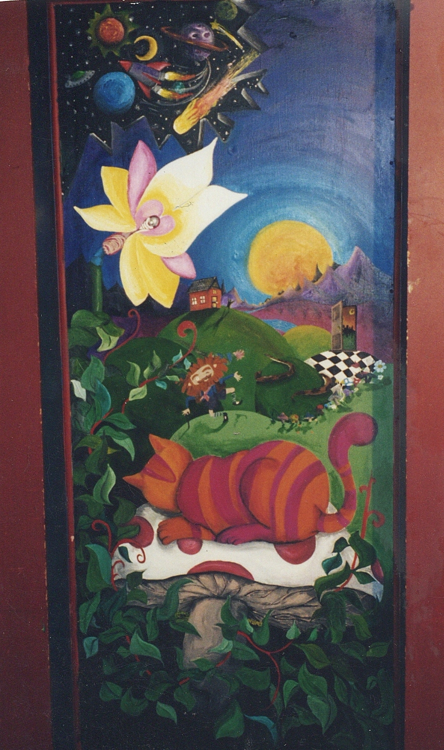 Ballard Playhouse Door Mural, Seattle WA