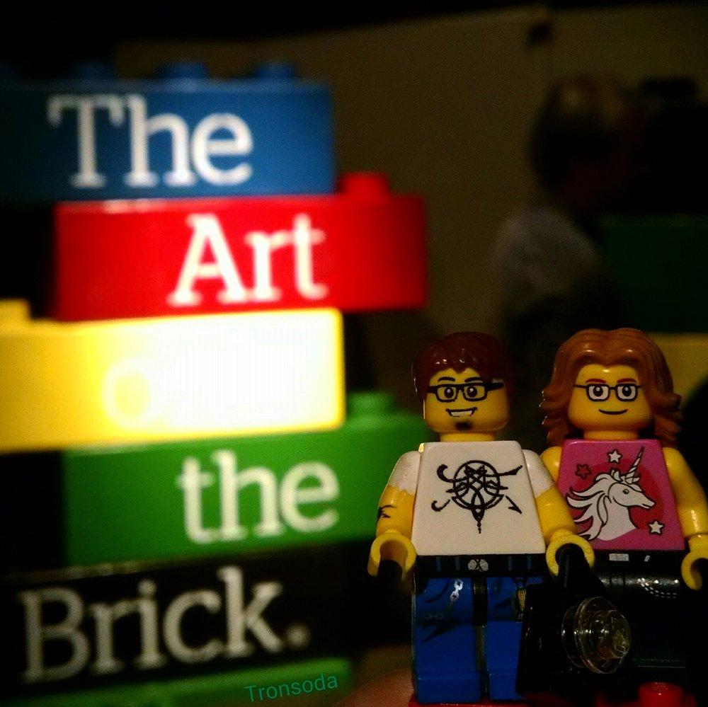 Lego ChrisP and Lego Sarah go to The Art of the Brick Exibit.jpg