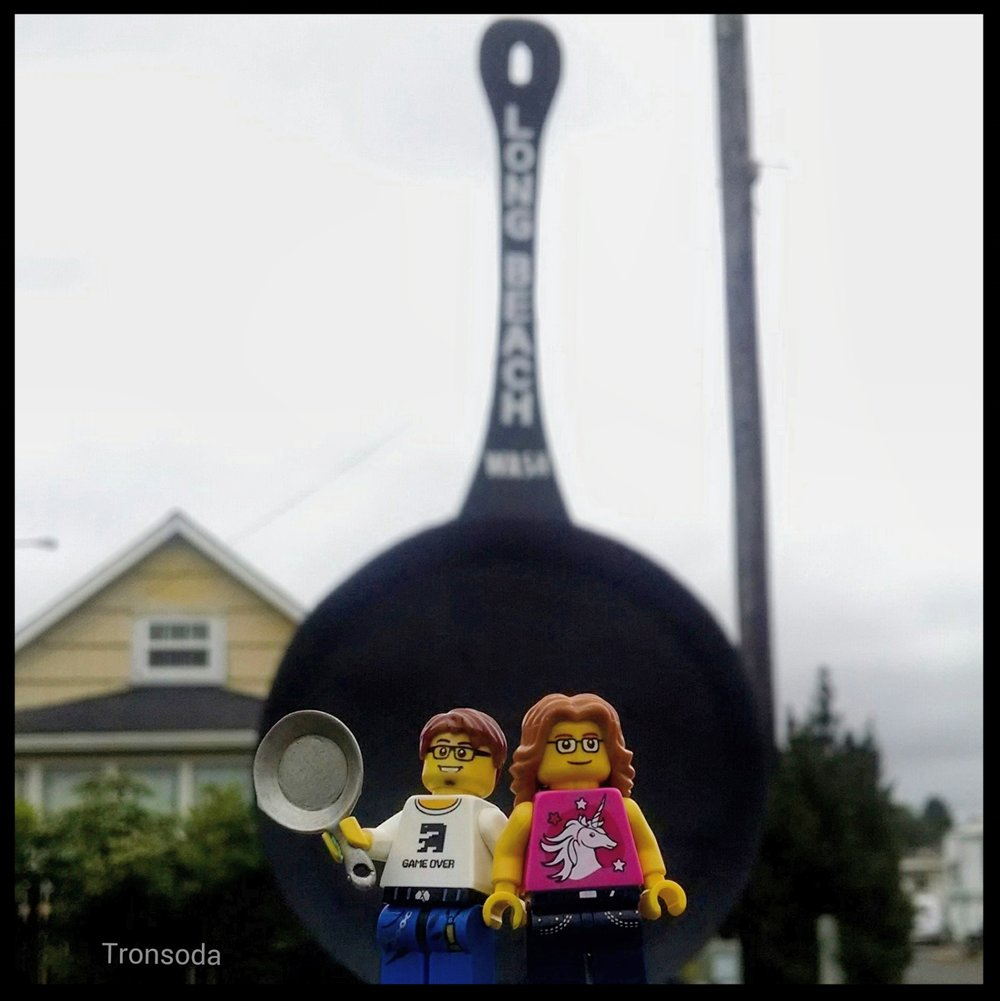 Lego Chris P. thought he had the largest fry pan  in the land, till they visited Longbeach WA.jpg