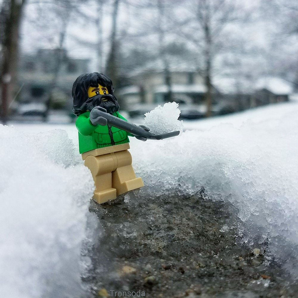"""Everyday I'm Shovelin'."""