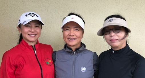 Miki Young, Jeannie Pak, and Mira Jang.