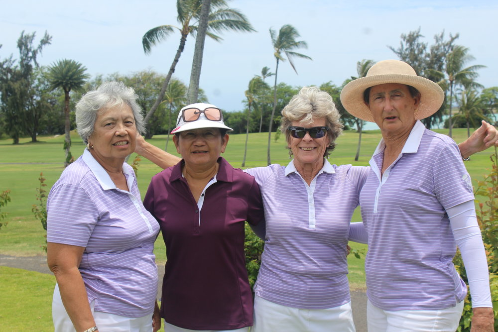Our Klipper ladies in lavender.
