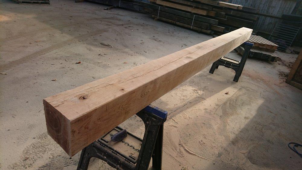 Single sanded floor beam