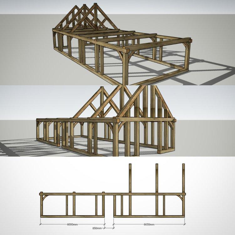 Oak Framed Buildings & Design