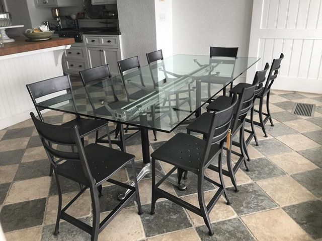 A Bruce Burdick Table we sold to a client on the east coast. Here it is, in its new forever home! We love it when clients send pictures and share their joy with us. Thank you for allowing us to help you make your house a home. . . . . #bruceburdick #eames #midcenturymodern #design #interiordesign #homedecor #kitchendecor #foreverhome #matterandbone #makehouseahome